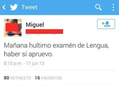 Examen de lengua. #humor #risa #graciosas #chistosas #divertidas