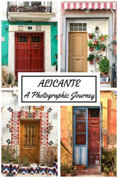 #Alicante is much more than sun and beach. Come with me on a photographic journey through the city's historic old town with its quaint houses and sea views #Spain