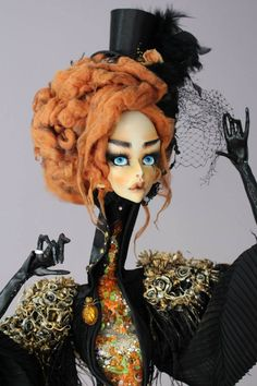 Art doll by GlinaDolls