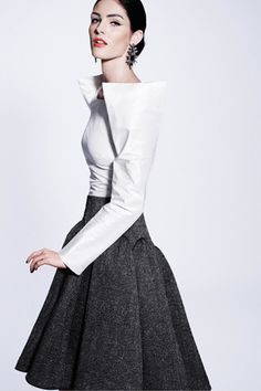 Hello, Tailor: Pre-Fall 2012: Zac Posen,
