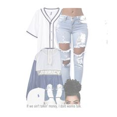 """""""JOYRICH💦"""" by ballislife ❤ liked on Polyvore featuring H&M, Joyrich, Retrò and AG Adriano Goldschmied"""