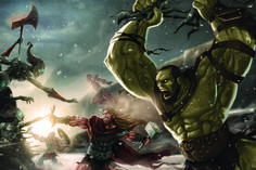 Avenge The Throne | Joel Santana -- I love the expression on the Hulk's face