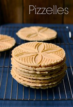 Pizzelles are the be