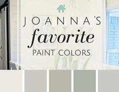 colori della pittura preferiti di Joanna