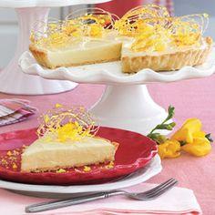 Lemon Velvet Tart | MyRecipes.com