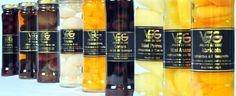 Sélection de fruits rafraîchis à l'alcool par les Vergers de Gascogne