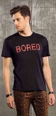 "LIP SERVICE LSMPA ""Bored"" tshirt #M16-384"