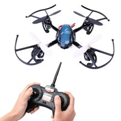 37.99$  Buy now - http://alirki.shopchina.info/1/go.php?t=32794469139 - Mini RC Helicopter Drone 2.4Ghz 6-Axis Gyro 4 Channels Quadcopter Good Choice for Drone Training Drone YK017 VS HS107 37.99$ #buyonline