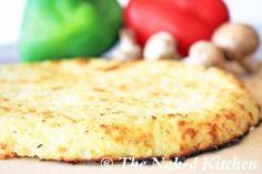 Gluten Free Pizza Crust... guess what it's cauliflower!
