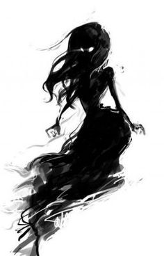 ghost / Un bel effet d'une illustration noir et blanc, l'illustration est plutô. ghost / A beautiful effect of a black and white illustration, the illustration is rather simple and can be easily car Dark Fantasy, Fantasy Art, Character Inspiration, Character Art, Wie Zeichnet Man Manga, Arte Obscura, Fan Art, Oeuvre D'art, Amazing Art