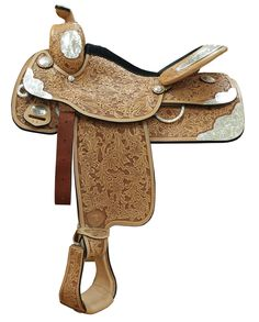 TEX TAN® AQHA Showman II Saddle :: Show :: Saddles :: Saddles & Tack :: Fort Western Online