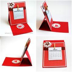 The Paper Art Studio: Desktop Calendar