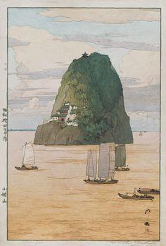 Hiroshi Yoshida (Japanese, 1876-1950) Shôkozan, China, 1939