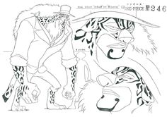 one piece model sheet - Buscar con Google