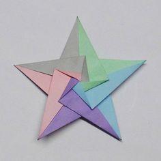 #DIY #Paper #Star www.kidsdinge.com