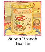Susan Branch Tea Tin