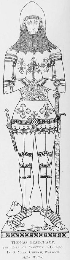 Thomas Beauchamp (d. 1401) who married Margaret Ferrers (d.1406) dau of William, 3rd Baron.
