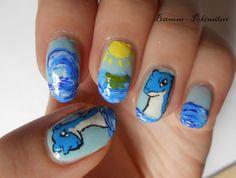 Pokémon nail art, Lapras