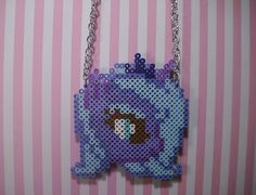 Princess Luna Inspired perler bead Necklace by Weeabootique