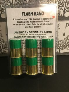 12 Gauge Power Blanks Flash Bangs 6 rounds per pack Survival Weapons, Weapons Guns, Guns And Ammo, Survival Skills, Tactical Shotgun, Tactical Gear, Edc, Reloading Ammo, Firearms