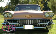 1958 Cadillac Eldorado Biarritz - a restoration project from our F.E.N. days. Learn more about CPR at www.cprforyourcar.com