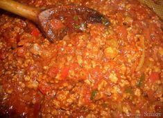 Aromatyczny sos do spaghetti Spaghetti, Mexican, Ethnic Recipes, Mexicans