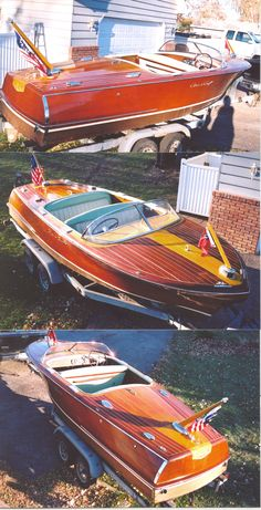 Classic Wooden Runabout- Chris Craft Capri