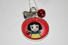 Snow White Princess Necklace $10