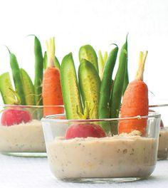 Creamy Dill & Cannellini Bean Dip