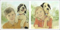 Syd Tunn's acrylic portraits © are full of light & character ... portraits can be commissioned.