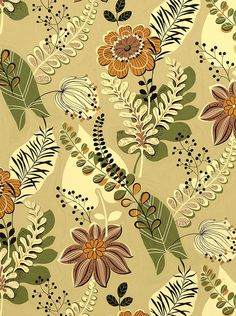 #Farbbberatung #Stilberatung #Farbenreich mit www.farben-reich.com 50s textile design PD-04553
