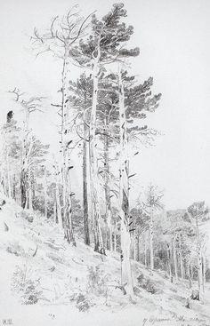 At the top of the Ai-Petri, 1879 Ivan Shishkin