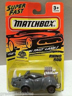 Matchbox Racing Stock Car - Rhino Rod This item is NOT in Mint Condition and is…
