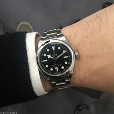 I genuinely want this watch. $2950 on bracelet. Tudor I would love to own this new Black Bay 36mm.