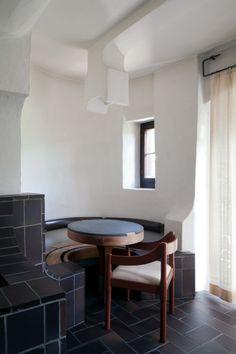Peter Zumthor - Ustria Caffe de Mont, Vella 1971 | | curated by ajaedmond.com in  minimalist interiors