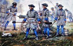 Swedish Artillery, Great Northern War