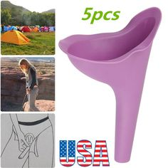 She Wee Female Ladies Womens Portable Urinal Urine Funnel Camping Travel Toilet Camping Wc, Camping Life, Camping Hacks, Pee Standing, Female Urinal, Bra Hacks, Portable Toilet, Emergency Preparation, Camping Equipment