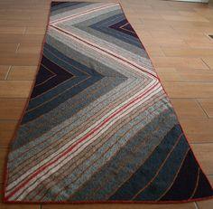 striped pattern wrap