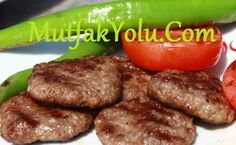 Akçaabat meatballs - my delicious food - Fleisch - Meat Recipes Best Meatloaf, Meatloaf Recipes, Meatball Recipes, Meat Recipes, Turkish Recipes, Italian Recipes, Ethnic Recipes, Carne Picada, Dried Beans