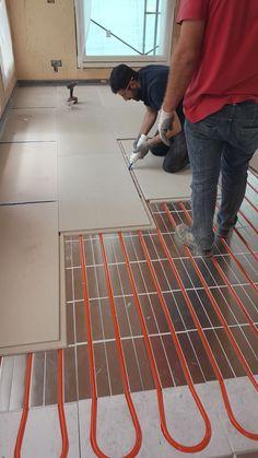 Hydronic Heating, Underfloor Heating, Installing Heated Floors, Eco Deco, Home Radiators, Cement House, Diy Heater, Bamboo House Design, Passive Solar Homes