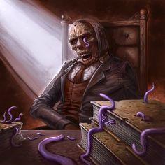 Cthulhu Tales - Worm-Eaten Tomes by ScottPurdy.deviantart.com on @DeviantArt