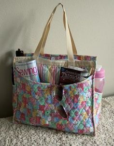 Perfect quilted tote | Tote pattern, Patterns and Bag : quilted bags and totes patterns - Adamdwight.com