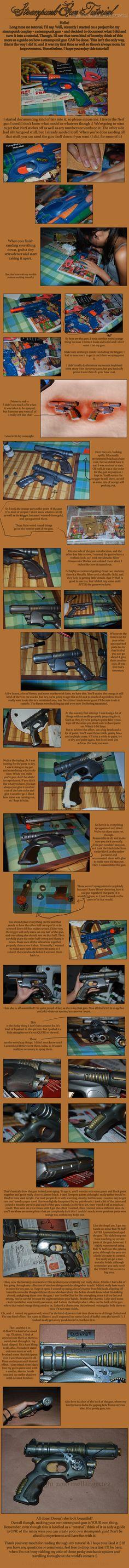 Simple Steampunk gun tutorial