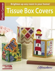 Leisure Arts - Tissue Box Covers eBook, $1.99 (http://www.leisurearts.com/products/tissue-box-covers-ebook.html)