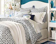 Geometric shapes to balance girly Teenage Girl Bedroom Ideas   Whimsy   PBteen