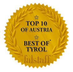 Award Asado's: best Steakhouse of Tyrol / TOP 10 of Austria