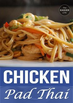 Chicken Pad Thai – Keto Friendly