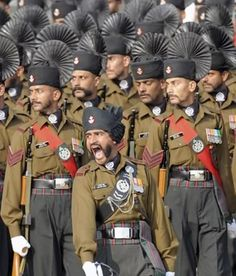Rajputana Rifles is the senior-most regiment of the Indian Army, having been originally raised in the century. Indian Navy, Indian Flag, Military Guard, Military Uniforms, National Defence Academy, Indian Army Wallpapers, Army Recruitment, Colonial India, Army Day
