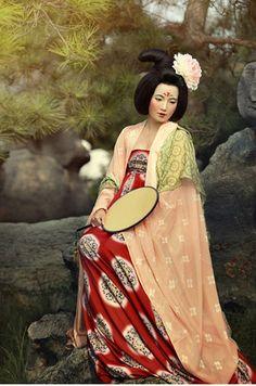 my hanfu favorites Oriental Dress, Oriental Fashion, Asian Fashion, Chinese Fashion, Traditional Fashion, Traditional Dresses, Historical Costume, Historical Clothing, Shanghai Girls