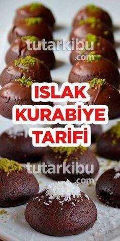 Islak Kurabiye Tarifi - - galletas - Las recetas más prácticas y fáciles Easy Cake Recipes, Cookie Recipes, Dessert Recipes, Beef And Potatoes, Biscuits, Turkish Recipes, Cheesecake Recipes, Food And Drink, Cooking